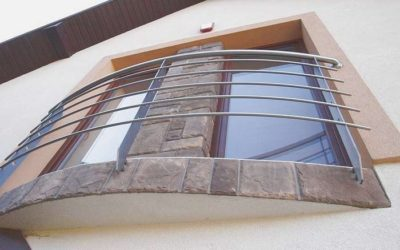 Balustrada portfenetre czyli nowoczesność i wygoda